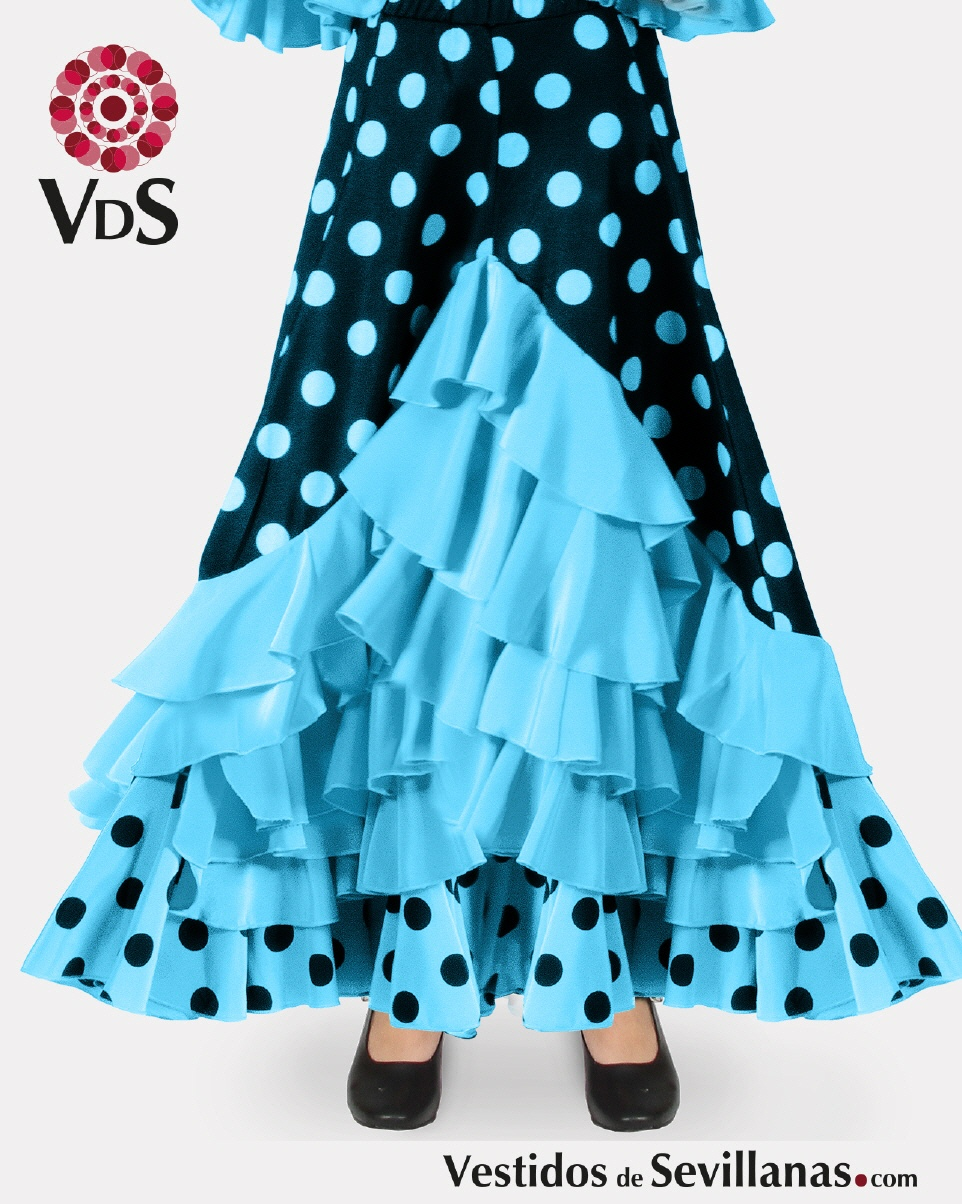 1c53466e9 Faldas baile flamenca para Niña