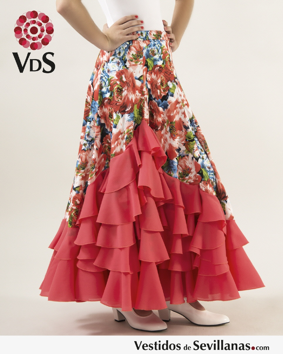 97c2093a0 Faldas baile flamenca para Niña