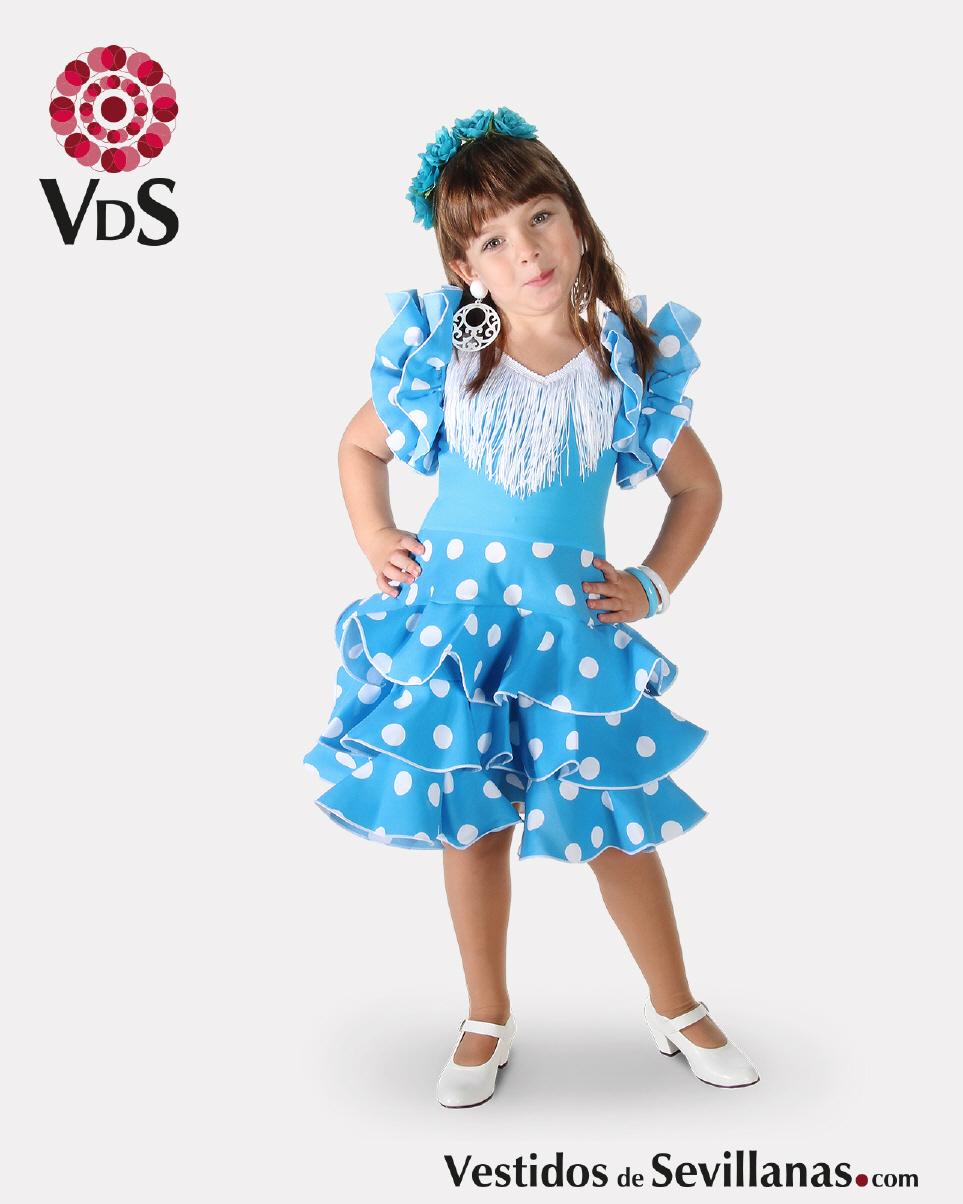 261d43e288 Traje de Flamenca Corto para bebé y niña CÓRDOBA