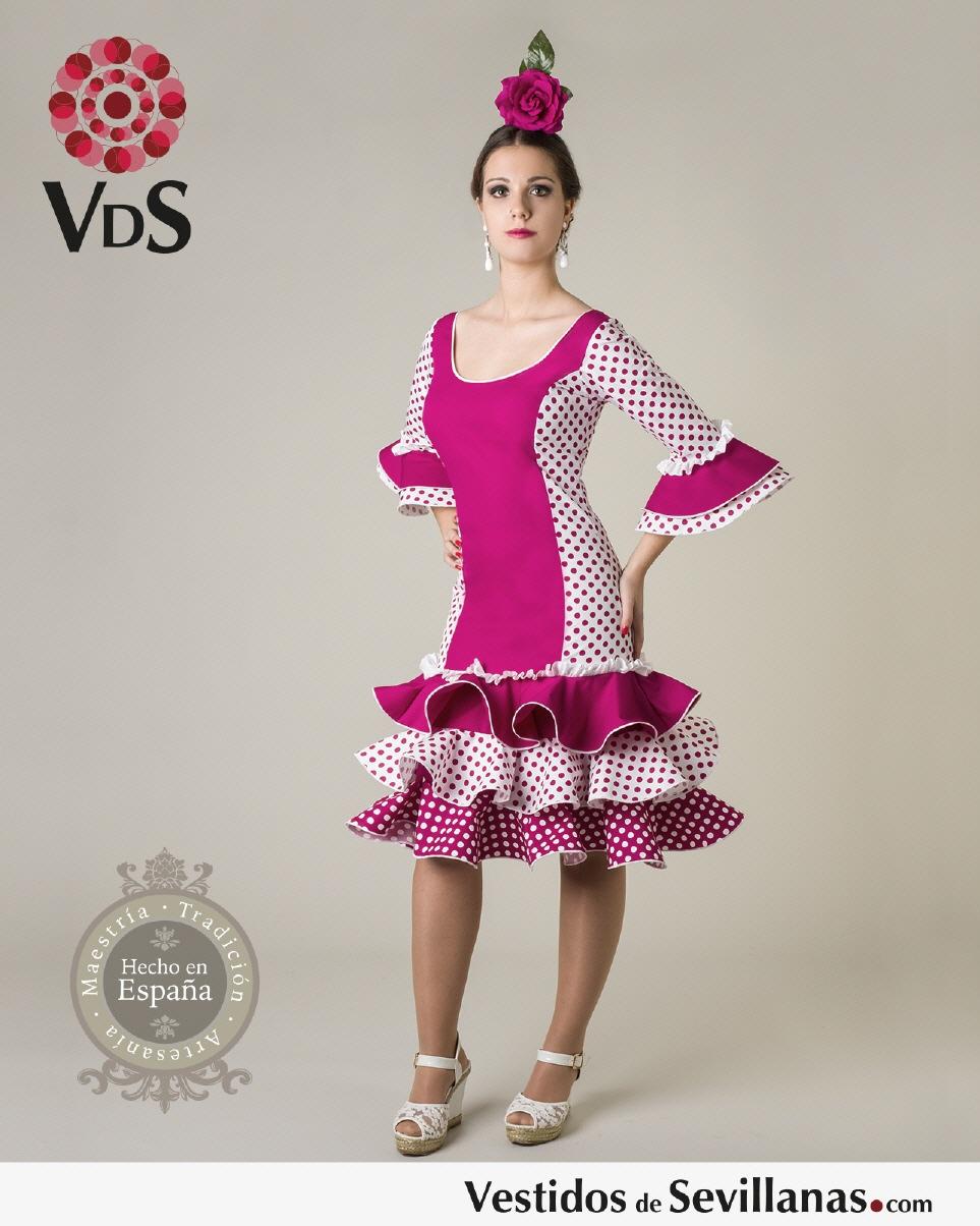 Traje flamenca de corto