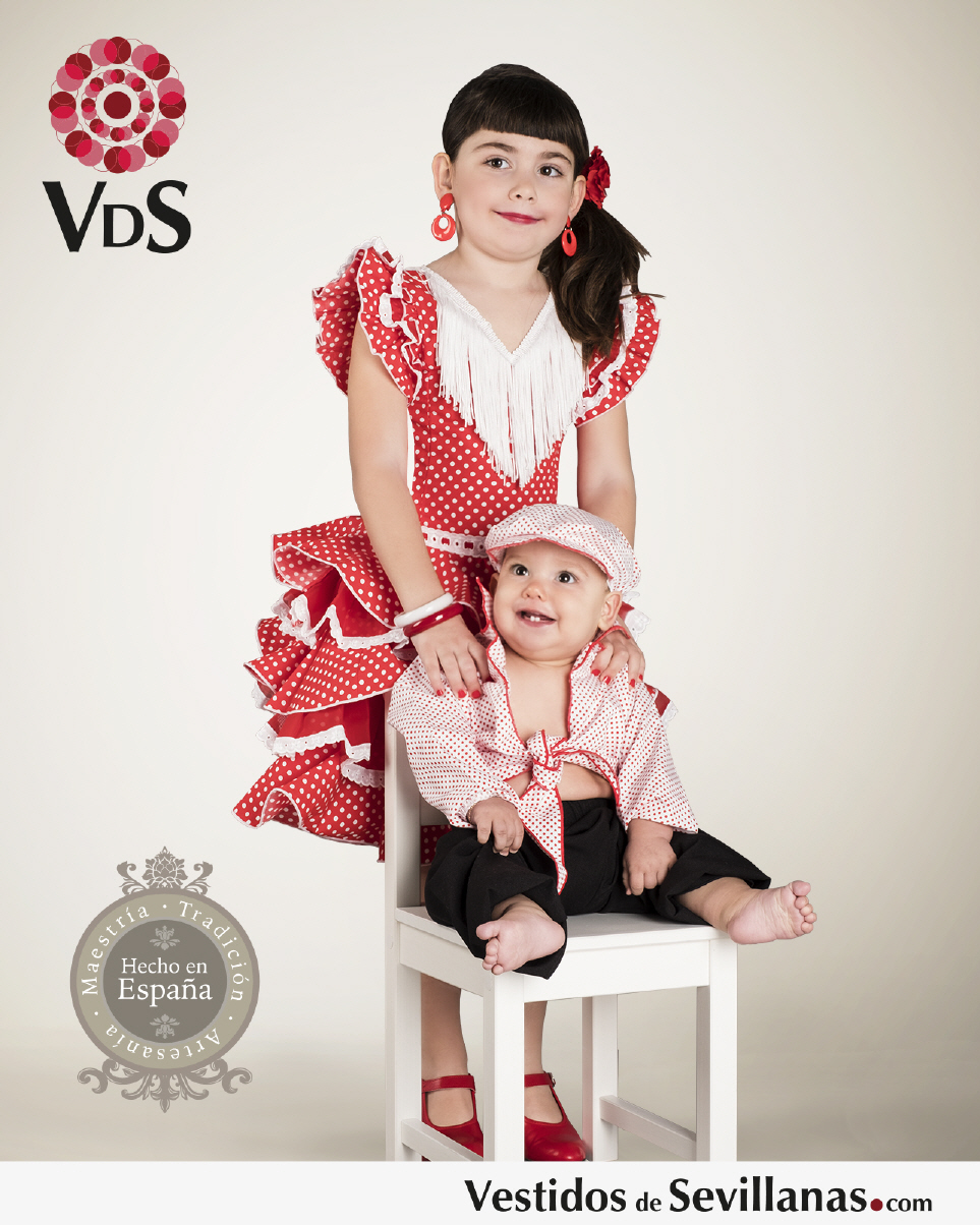 Trajes Flamenca De Nia Rojos | Holidays OO - photo#27