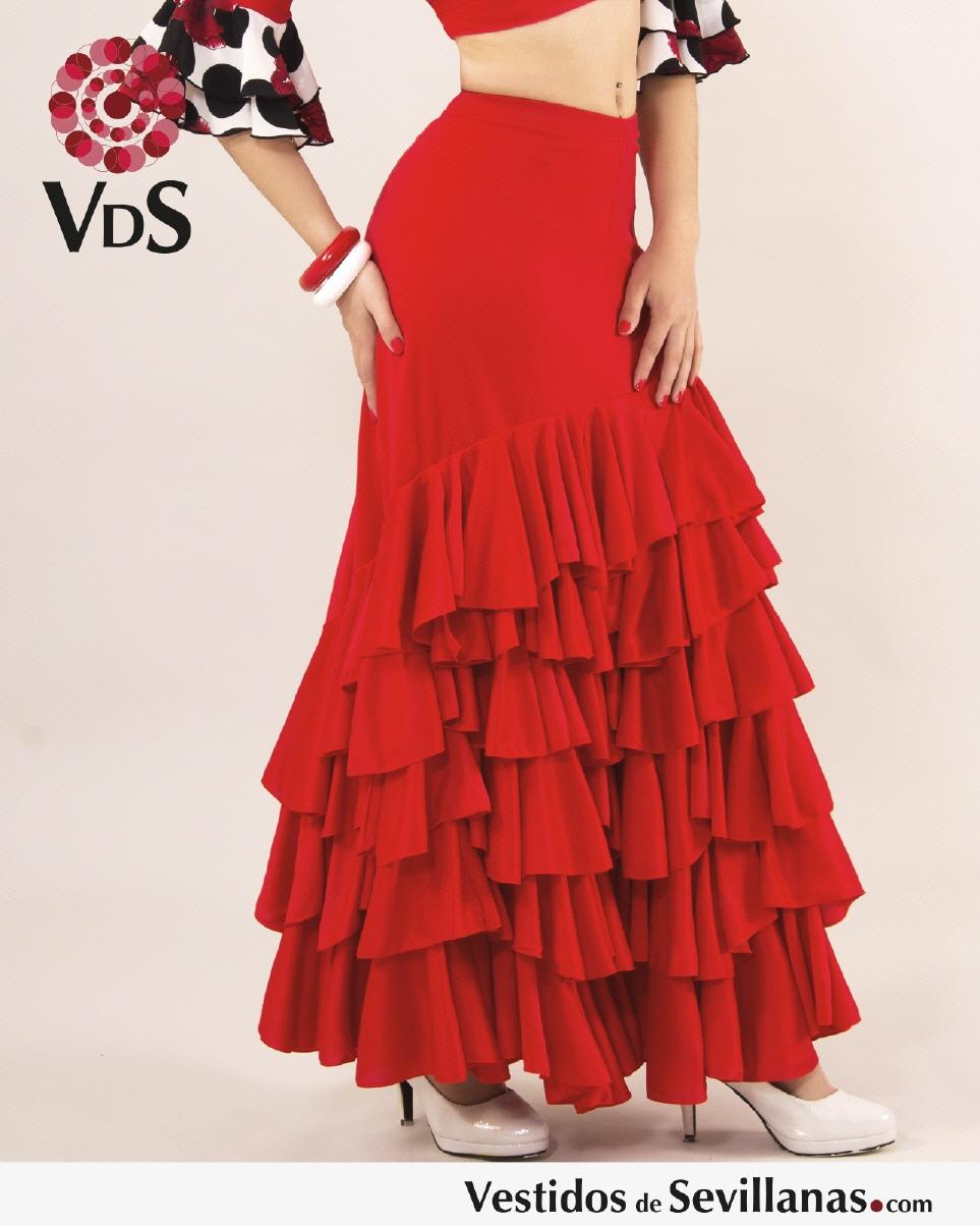 0a5d98395f Faldas baile flamenco